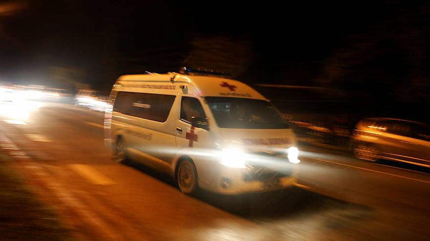 El hospital de Chiang Rai recibe a los niños rescatados en Tailandia