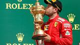 Büyük Britanya Grand Prix'inde zafer Vettel'in