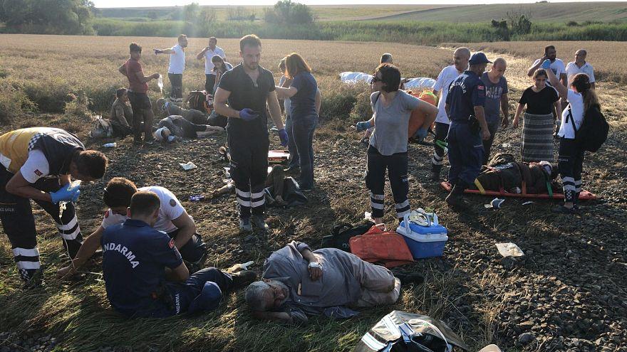 Tekirdağ'da tren kazası: 10 ölü ve 73 yaralı