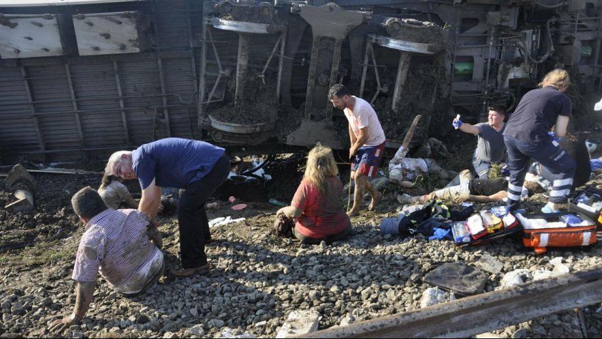 سانحه مرگبار قطار در تکیرداغ ترکیه