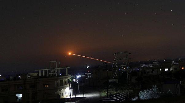 حمله شبانه اسرائیل به پایگاه تیفور در سوریه