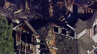 Lakóházra zuhant egy helikopter az Egyesült Államokban