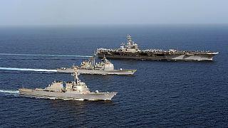 ترامپ: مزاحمت ایران برای کشتیهای جنگی آمریکا به صفر رسیده است