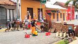 Pelo menos 14 pessoas morreram na Nicarágua