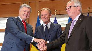 Energy security in spotlight at EU-Ukraine summit