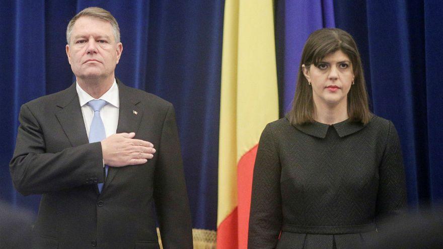 Felmentette a román elnök a korrupcióellenes főügyészt