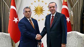 Recep Tayyip Erdogan és Orbán Viktor Ankarában 2017. június 30-án