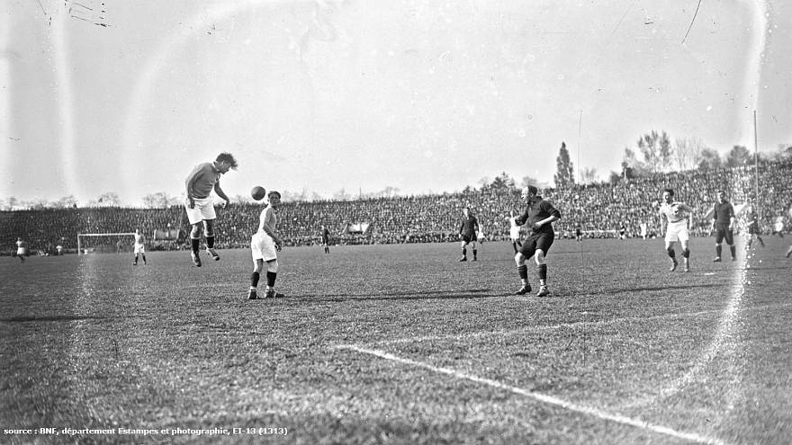 France - Belgique (4 - 3 ), Stade Pershing, Paris, 11/4/1926