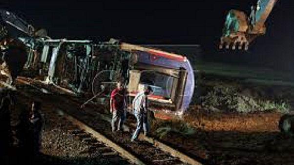 Τουρκία: Πολύνεκρο σιδηροδρομικό δυστύχημα