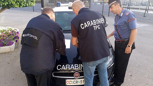 Δεκάδες συλλήψεις μελών της μαφίας στην Καλαβρία