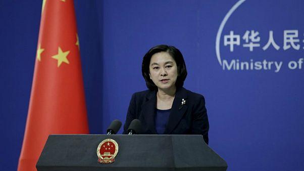 دعوة صينية للولايات المتحدة إلى عدم تعريض السلام في مضيق تايوان للخطر
