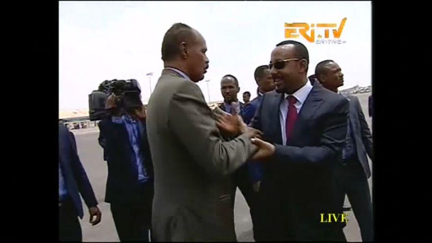 """إثيوبيا وإريتريا يعلنان انتهاء """"حالة الحرب"""" بين البلدين"""