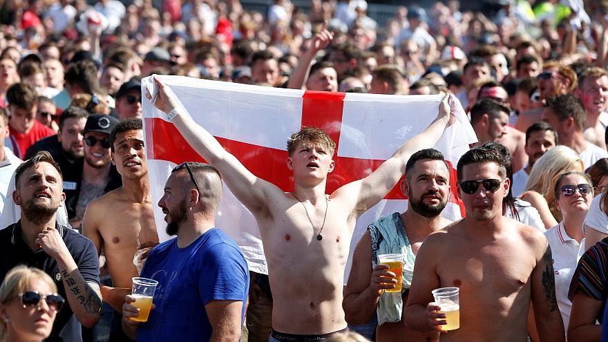 Fans bei einem WM-Spiel
