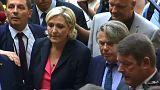 مارين لوبان تندد بما يتعرض له حزبها وتصفه بالإغتيال السياسي