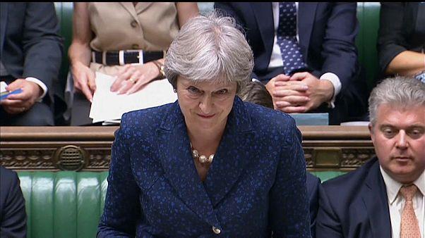 Theresa May apresenta o seu plano para o Brexit