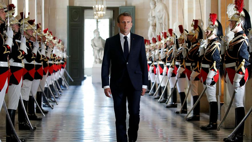 Macron determined to push ahead as he launches 'Year 2' of reform drive