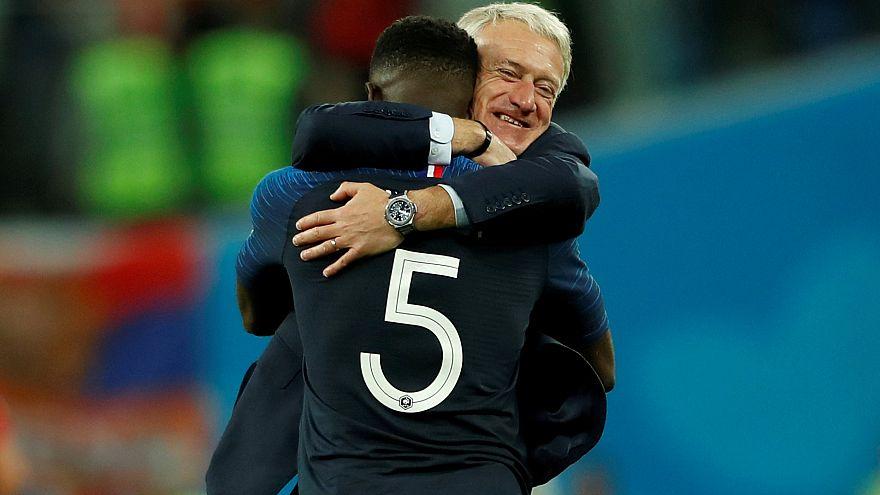 FIFA 2018'de ilk finalist Fransa oldu