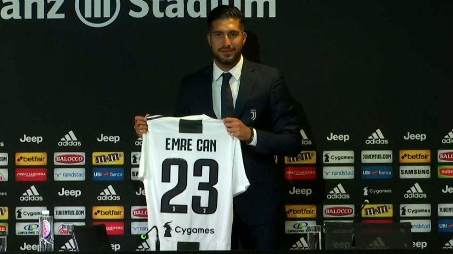 "Juventus, Emre Can: ""L'Italia nel mio destino"""