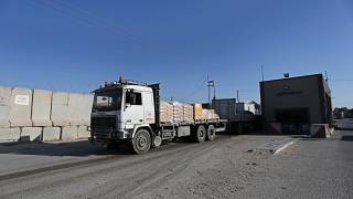 İsrail  Gazze'ye ticari malların girişi için kullanılan tek sınır kapısını kapatıyor