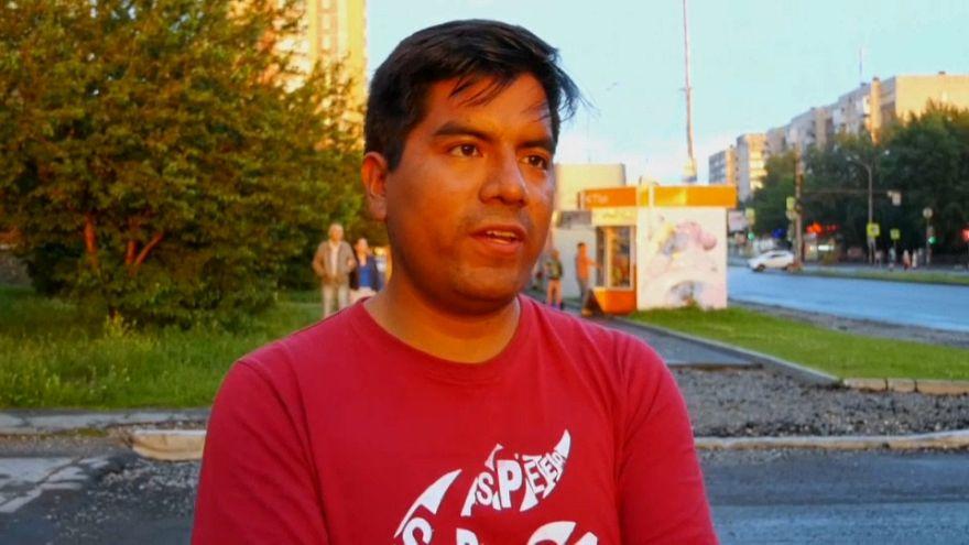 Tifoso peruviano decide di trasferirsi in Russia
