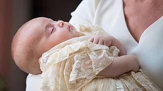 Royals gather for Prince Louis christening