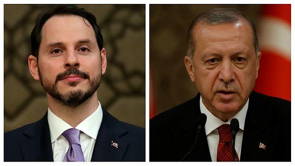 اردوغان دامادش را به سمت وزارت دارایی منصوب کرد
