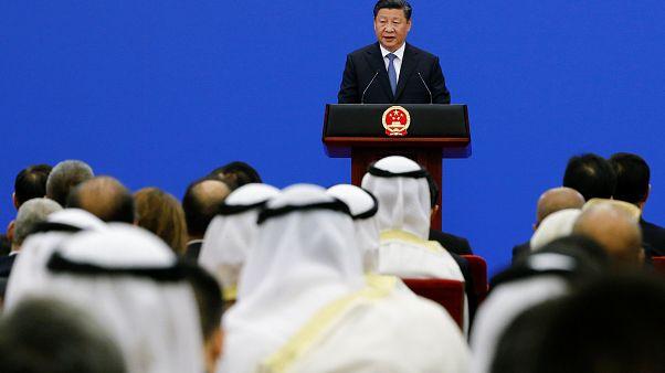 الرئيس الصيني يحث دول الشرق الأوسط على إيجاد مسار جديد لإحداث تجديد كامل في المنطقة