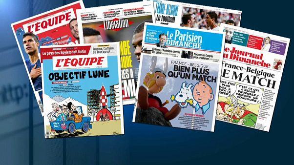 Mondial : un France-Belgique pour l'Histoire