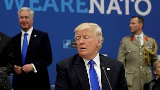 Stage set for heated NATO summit in Brussels