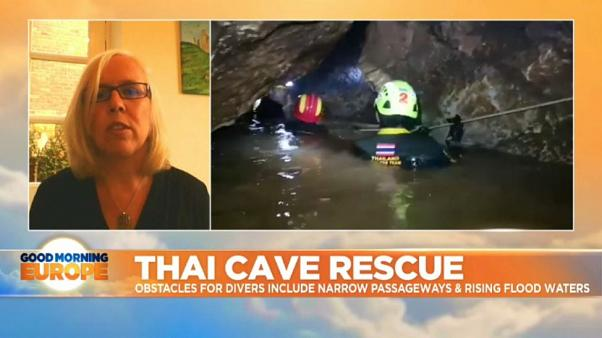 "Watch: Thai cave ""The hardest thing for those inside is dealing with uncertainty"""