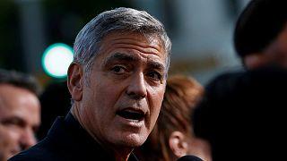 Motorbalesetet szenvedett George Clooney