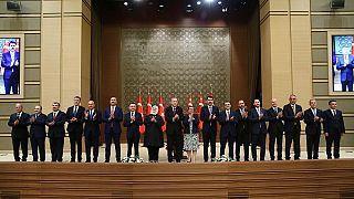 Recep Tayyip Erdoğan, yeni kabine, 2018