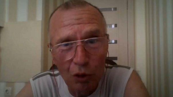 Chemiker Wladimir Uglev im Gespräch mit euronews