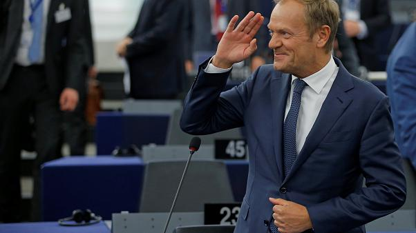 'Appreciate your allies, you don't have many,' Tusk tells Trump