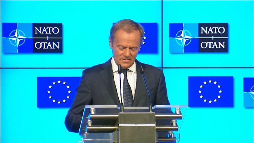 "Tusk ""adverte"" Trump por negligenciar aliados europeus"