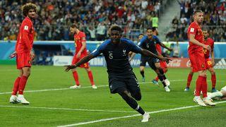 Franciaország világbajnoki döntős