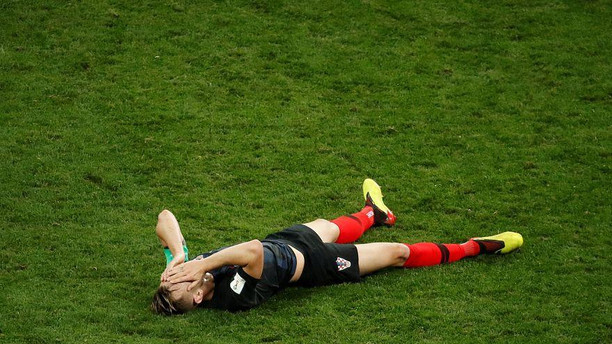 Croacia gana a Inglaterra (1-2) y estará en la final del Mundial