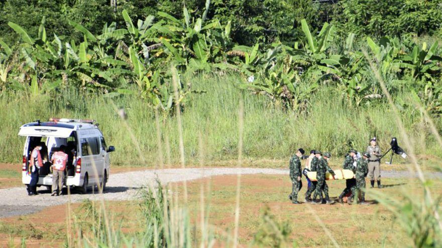 """إنقاذ """"أطفال الكهف"""" ومدربهم في تايلاند"""