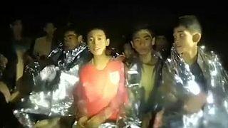 Happy End im Höhlendrama: Alle 13 Eingeschlossenen befreit