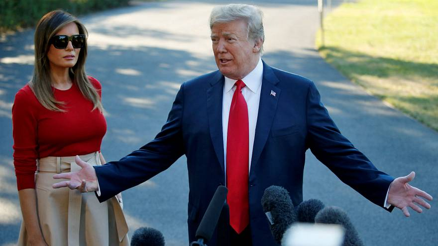 Trump says UK 'in turmoil', declines to offer support to May