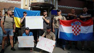 Украина вступилась за сборную Хорватии
