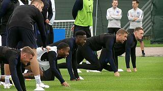 Startklar: England und Kroatien gespannt vor WM-Halbfinale