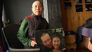 La viuda de Liu Xiaobo abandona China