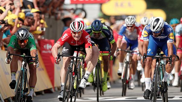 Gaviria nyerte a Tour de France negyedik etapját