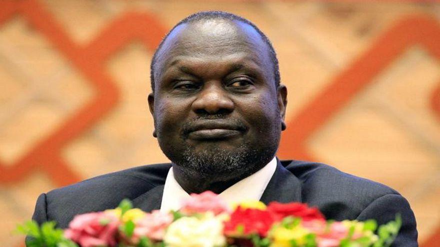 ريك مشار النائب السابق لرئيس جنوب السودان في الخرطوم يوم 27 يونيو حزيران 20