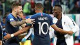 كأس العالم 2018: رأسية أومتيتي تقود منتخب الديوك لنهائي مونديال روسيا