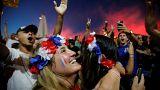 Fotoğraflarla Fransa'nın final sevinci