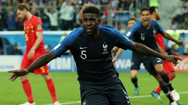 فرانسه با غلبه بر بلژیک راهی فینال شد