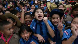 Öröm és megkönnyebbülés - mindenki kiszabadult a thaiföldi barlangból