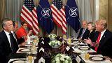NATO Zirvesi'nde gerginlik: Trump üyeleri hedef aldı